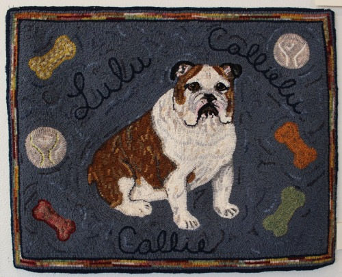 'Callie Lulu' hooked by Nancy Heitzman