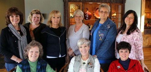 The Grants Pass Portrait Workshop participants.