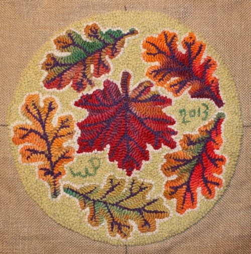 Many Autumn Leaves by Laura Pierce