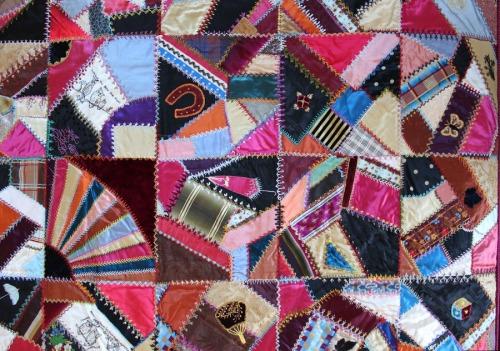 Crazy Quilt inherited by Julie Neumiller