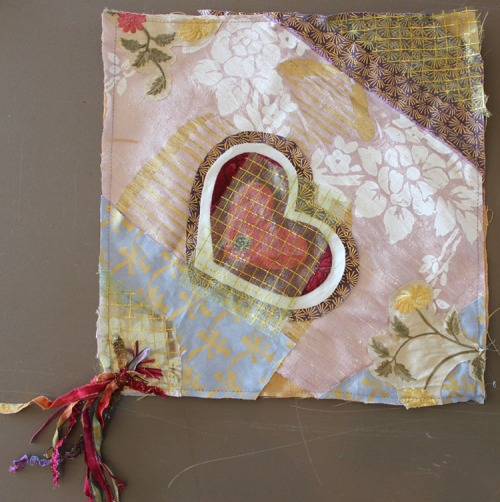 Crazy Quilt square by China Dusk