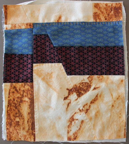 Crazy Quilt square by Michelle Sirois-Silver