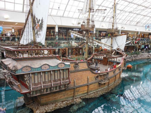 Sailing Ship at Edmonton Mall