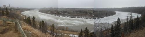 North Saskatchewan River in Edmonton