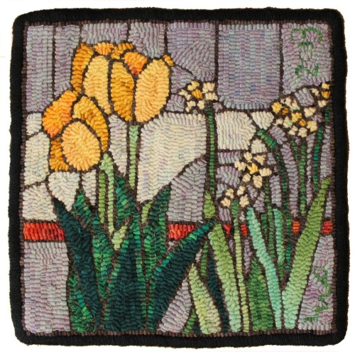 Spring Stained Glass by Laura Pierce
