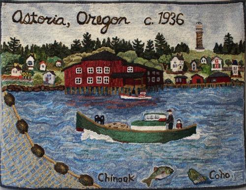 'Astoria Fishing Memories' by Janine Larson