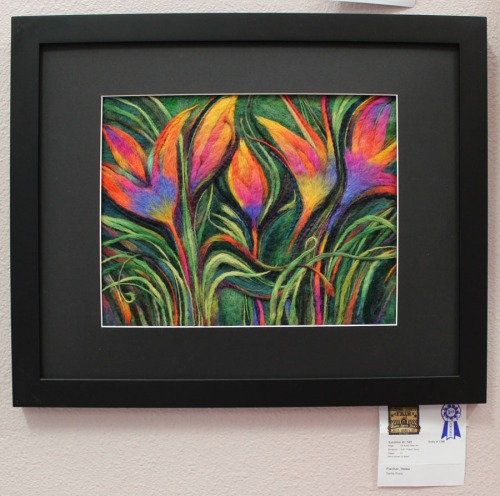 Felted Flora by Helea Fischer at Sonoma Co Fair
