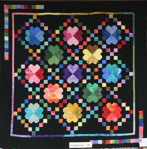 Rainbow Quilt at the 2013 Sonoma Co Fair