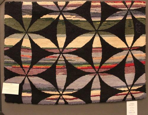 Geometric with Background by Betty Weigle
