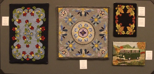 1 of 9 panels showing Rugs designed by Jane Olson