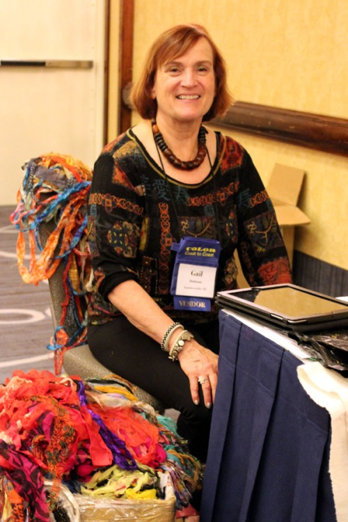 Gail Dufresne at 2013 ATHA Biennial