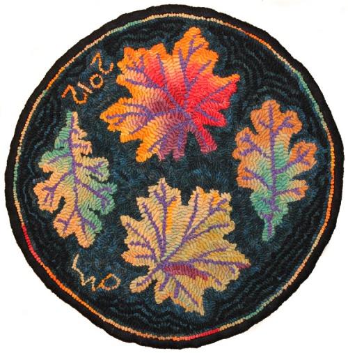 Autumn Leaves Chair Rug