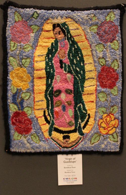 Virgin of Guadalupe by Bonifacia Tovar
