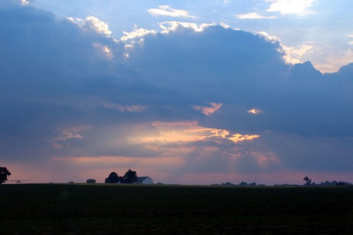 Lancaster country side sunset...