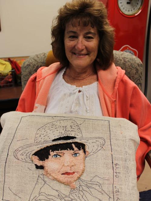 Christine Wardrop is hooking an Amish boy!