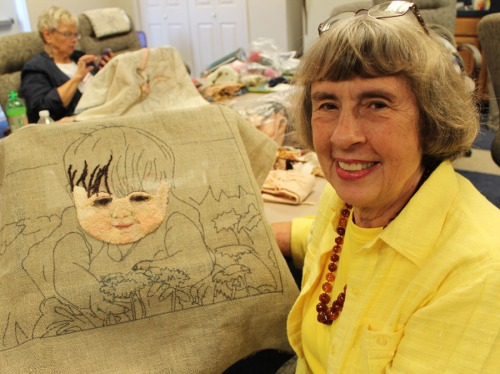 Peggy Hannum's baby comes to life!