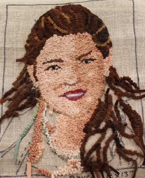 Vickie Landis's portrait of her grand-daughter