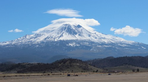 Mt. Shasta from Weed, CA. March 2013