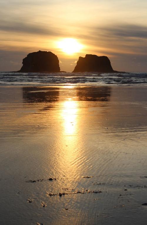 Rockaway April Sunset