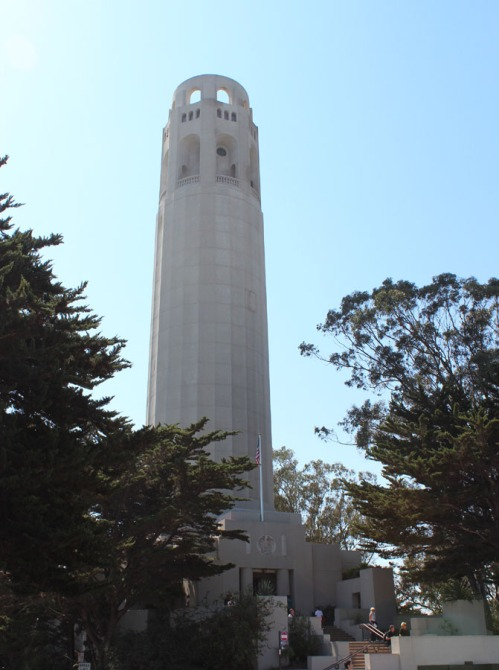 Coit Tower, a San Francisco icon!