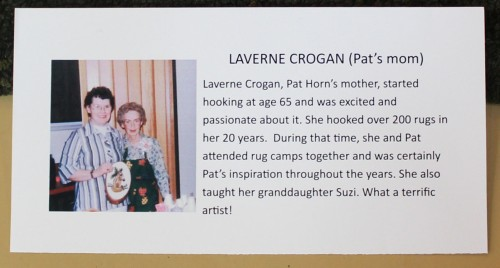 Pat Horn and her mother, LaVerne Crogan