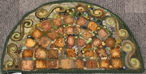 'Hearth Scrap Rug' by Kathy Stephens
