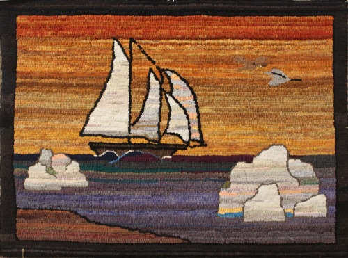 'Grenfell Goose Schooner' by Patty Yates