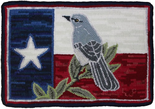 Texas Mockingbird with a little more black by Laura Pierce
