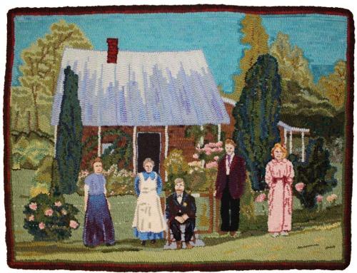 Latta Folk in Fox Hollow by Laura Pierce
