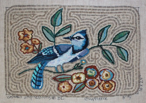 Caswell Blue Jay by Laura Pierce